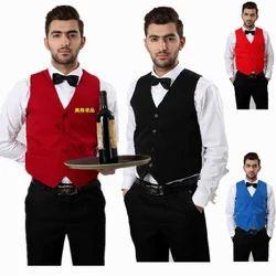 Polyester Formal Hotel Staff Waistcoat