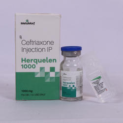 Ceftriaxone Sodium 1000 mg Inj
