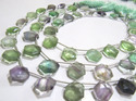 Multi Flourite Beads