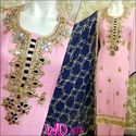 Georgette Party Wear Suits W-430
