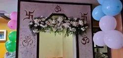 Main Gate Flower Decorations