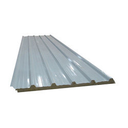 Silver Puf Panel Roofing Sheet Thickness 20 50 Mm Rs 100 Square Feet Id 16219719762
