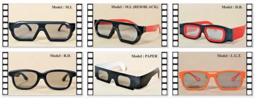 Cinema 3D Glasses, Led, Lcd, Smart Tv And Home Theatre | Ray