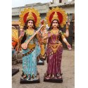 Laxmi and Saraswati Statue