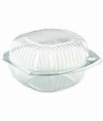 Plastic Burger Box