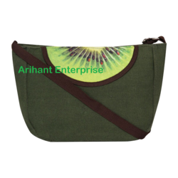 SBB Kiwi Fruit Canvas Sling Bag
