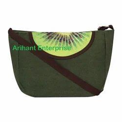 SBB Kiwi Fruit Canvas Sling Bag