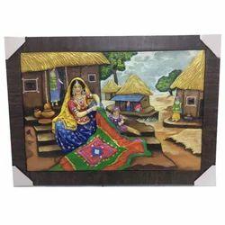 radha krishna frp mural, size 6 feet * 4 feet id 8897237962customized wall frp mural ask price affare dusk sainik farm, new delhi call 08048879055 view mobile number fiber mural wall painting