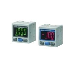 SMC 2-Color Display High-Precision Digital Pressure Switch ZSE30A (F) /ISE30A