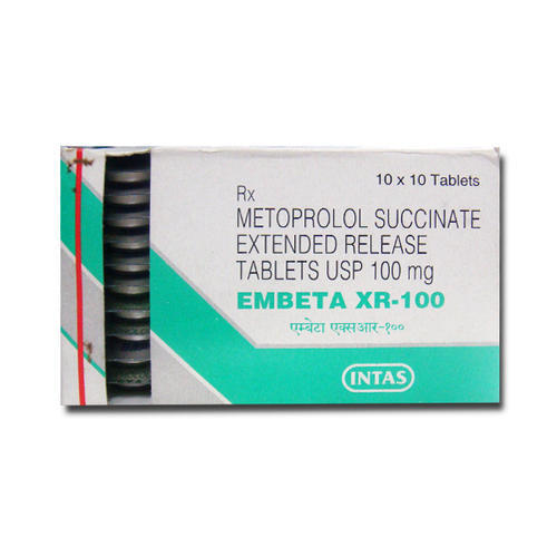 Intas Pharmacuticals Embeta Metoprolol 25mg 50mg 100mg