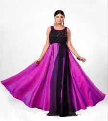 Designer Long Floor Touch Gown