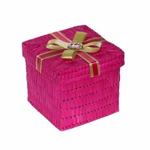 Palm Leaf Square Gift Box  sc 1 st  IndiaMART & Palm Leaf Square Gift Box at Rs 150 /piece | Palm Leaf Boxes | ID ... Aboutintivar.Com