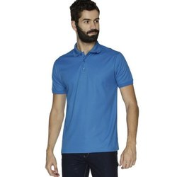 Polo Neck Plain Ruffty Mens Half Sleeve Sports Cotton T Shirt, Size: S-3XL
