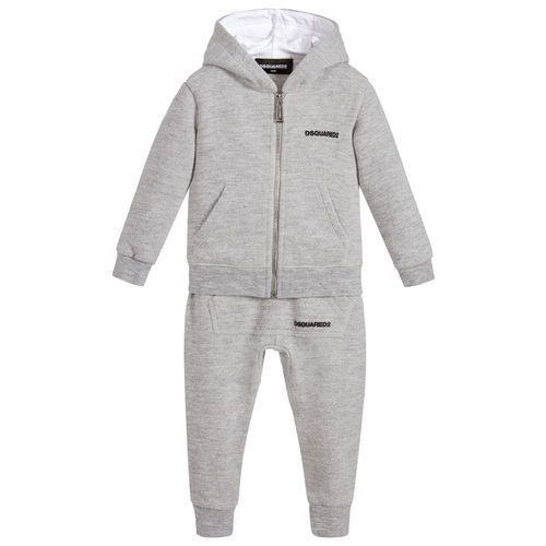 8b6ca0d1723 Kids Hooded Cotton Grey Tracksuit at Rs 360  set