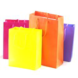 Customized Packing Paper Bag, For Shopping