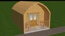 fiber cottage wooden effect