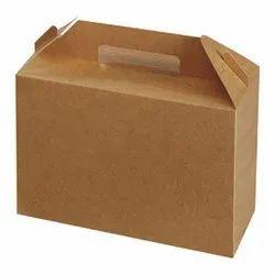 Cardboard Rectangle Food Packaging Carton Box