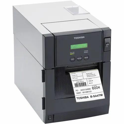 Toshiba Industrial Barcode Printer, B-SA4TM, Max Print Width: 4 inches