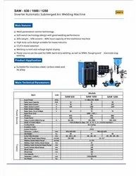 SUBMERGED ARC WELDING MACHINE-INVERTER TYPE