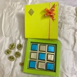 Cardboard Square Chocolate Gift Pack, For Food