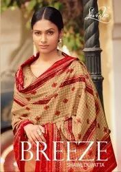 Levisha Breeze Shawl Dupatta Pashmina Winter Dress Material Catalog
