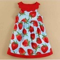2-4 Years Multicolor Kids Cotton Frock, Small