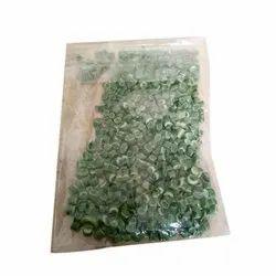 Green Plastic Granules, Packaging Type: Packet