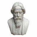 White Marble Rabindranath Tagore Statue