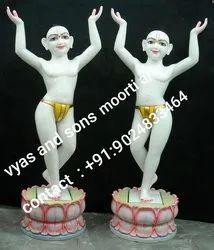 Chaitanya Mahaprabhu Marble Statues