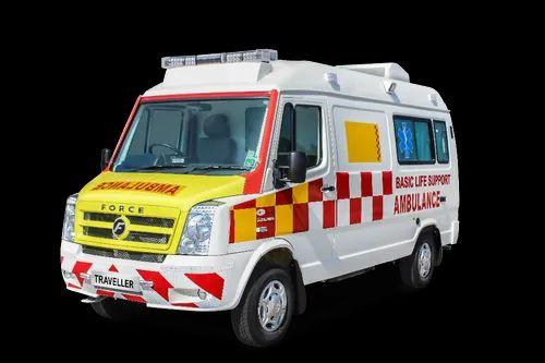 Force Motors Range of Ambulance - Force Traveller Patient
