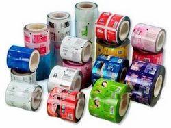 Printed shrink film roll