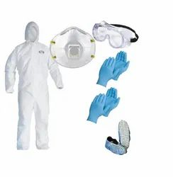 Non Woven Disposable Coverall with PPE Kit