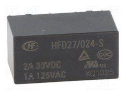 HFD27/024-S Hongfa Telecom Relay
