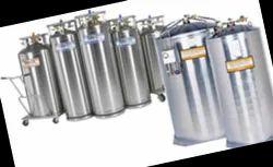 230 Liter Liquid Nitrogen Dewar