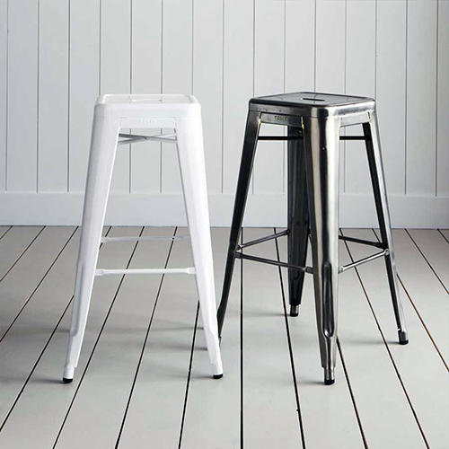 Surprising Metal Stool Creativecarmelina Interior Chair Design Creativecarmelinacom
