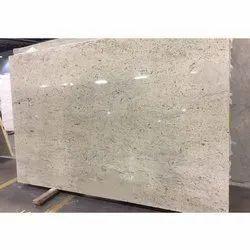 Kashmir White Granite Slab, Thickness: 18-20 mm