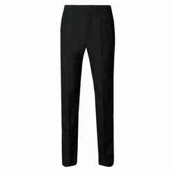 Black Polyester School Uniform Trouser