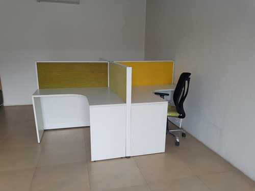 4 Fibre-Reinforced Plastic (FRP) Office Workstation