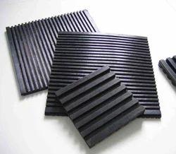 JK Black Rubber Mounting Pads, Diameter: 8 /0.314 mm, Hardness: 30~97 A