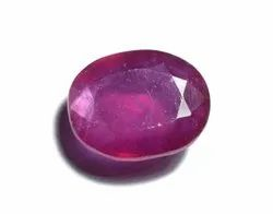Glass Field Ruby Stone