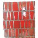 Red Glossy Ceramic Designer Tiles