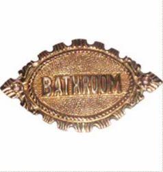 Bathroom Plate