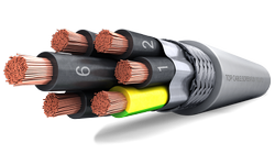 Multicore Shielded Cable