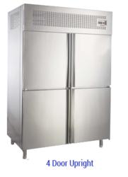 Four Door Vertical Freezer