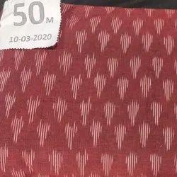 Cotton Designer Printed Ikat Textile Fabric, GSM: 50-100 GSM