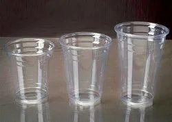 Plastic Transparent Disposable Glass
