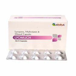 Lycopene Vit A Vit C Vit E Selenium Dioxide Capsules