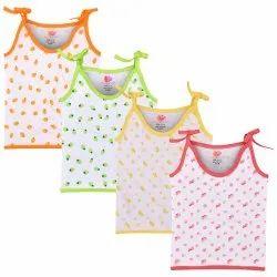 New Born Kids Boys & Girls Cotton Blend Vest