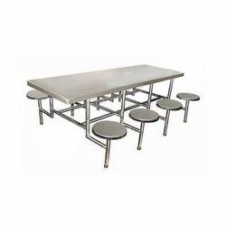 SS Dining Table, Shape: Rectangular