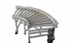 Curved Roller Conveyor